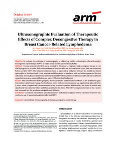 Ultrasonographic Evaluation of Therapeutic Effects of ... - BioMedSearch
