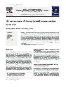Ultrasonography of the peripheral nervous system - Core