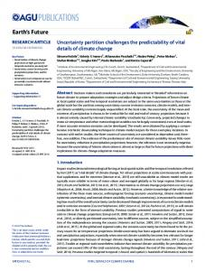 Uncertainty partition challenges the ... - Wiley Online Library