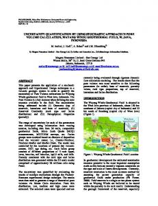 Uncertainty Quantification by Using Stochastic ... - Stanford Earth
