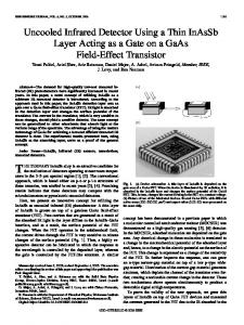Uncooled Infrared Detector Using a Thin InAsSb Layer ... - IEEE Xplore