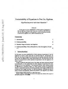 Undecidability of Equations in Free Lie Algebras