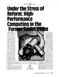 Under the Stress of Reform: High-Performance