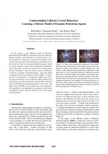 Understanding Collective Crowd Behaviors: Learning a ... - CUHK