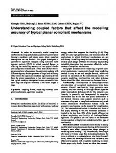 Understanding coupled factors that affect the ...