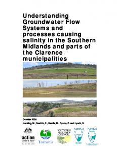 Understanding Groundwater Flow Systems and ...
