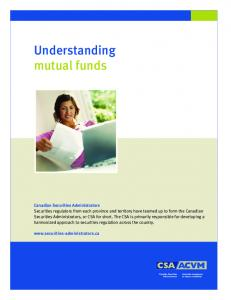 Understanding mutual funds - Ontario Securities Commission