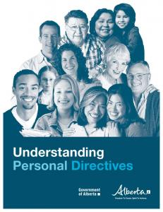 Understanding Personal Directives - Human Services
