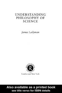 Understanding Philosophy of Science - Joelvelasco.net