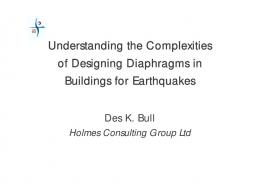Understanding the Complexities of Designing Diaphragms in ...