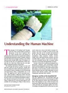 Understanding the Human Machine [Commentary]