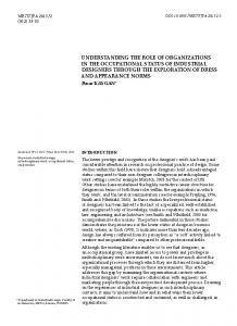 understanding the role of organizations in the