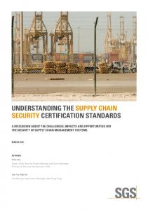 UNDERSTANDING THE SUPPLY CHAIN SECURITY ...