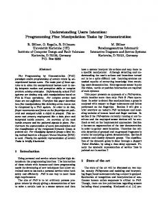 Understanding Users Intention: Programming Fine ... - Semantic Scholar