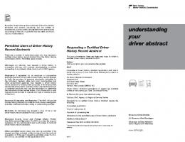 understanding your driver abstract