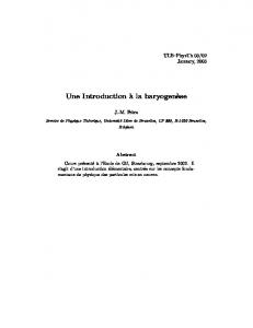 Une Introduction - ULB