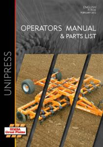 UNIPRESS - Great Plains Manufacturing