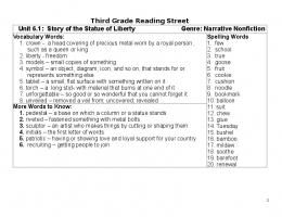 Unit 6 Story Words and Skills-1 - Our Class Family