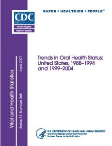United States, 1988–1994 and 1999–2004 - Centers for Disease ...