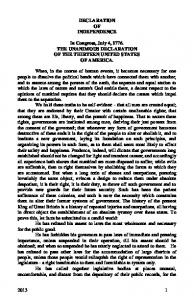 United States' and Colorado's Constitution