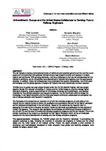 Universities in Europe and the United States Collaborate to Develop ...