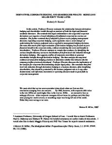 University of Illinois Law Review - SSRN papers