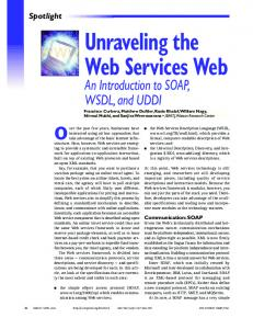 Unraveling the Web Services Web