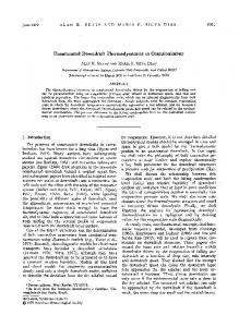 Unsaturated Downdraft Thermodynamics in E - Alan Betts
