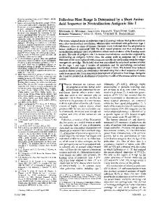 Untitled - Department of Microbiology & Immunology - Columbia