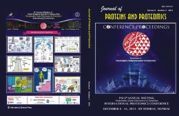 Untitled - Journal of Proteins & Proteomics