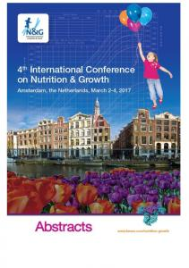 Untitled - Nutrition and Growth Conference 2017