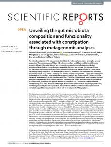 Unveiling the gut microbiota composition and
