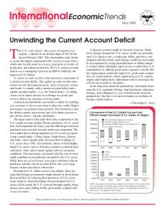 Unwinding the Current Account Deficit - Federal Reserve Bank of St ...