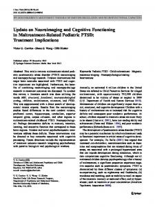 Update on Neuroimaging and Cognitive ... - Semantic Scholar