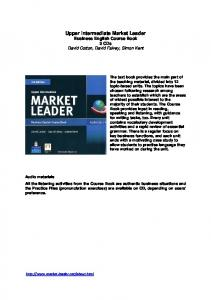 Upper Intermediate Market Leader