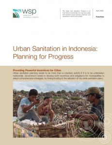 Urban Sanitation in Indonesia - Water and Sanitation Program (WSP)