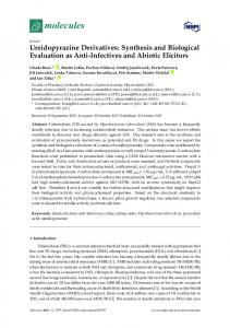Ureidopyrazine Derivatives: Synthesis and Biological ... - MDPI