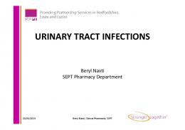 Urinary Tract Infection Powerpoint