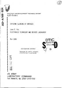 us army laboratory command - Defense Technical Information Center