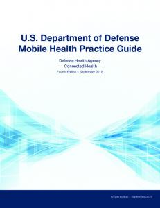 US Department of Defense Mobile Health Practice