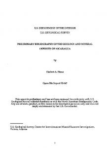 us department of the interior us geological survey preliminary ...