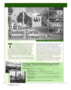 U.S. Olympic Training Center Resident Program ... - USA Gymnastics