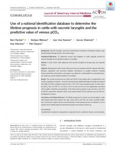 Use of a national identification database to ... - Wiley Online Library