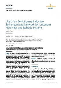 Use of an Evolutionary Inductive Self-organizing ... - SAGE Journals