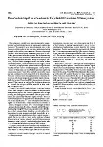 Use of an Ionic Liquid as a Co-solvent for Recyclable Pd ... - CiteSeerX