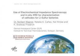 Use of Electrochemical Impedance Spectroscopy and ...