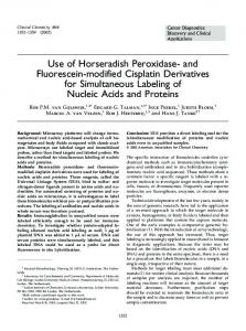 Use of Horseradish Peroxidase- and ... - Clinical Chemistry