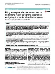 Using a complex adaptive system lens to understand ... - Springer Link
