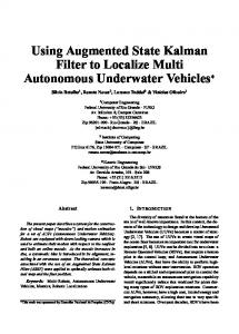 Using Augmented State Kalman filter to localize multi ... - Springer Link