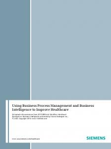 Using Business Process Management and Business ...